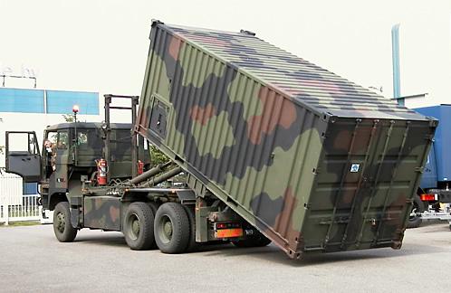 Mobile Workshop Mobile Workshop Container