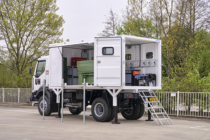 Gemco mobile workshop un trucks gemco mobile safety - Anticare un mobile ...